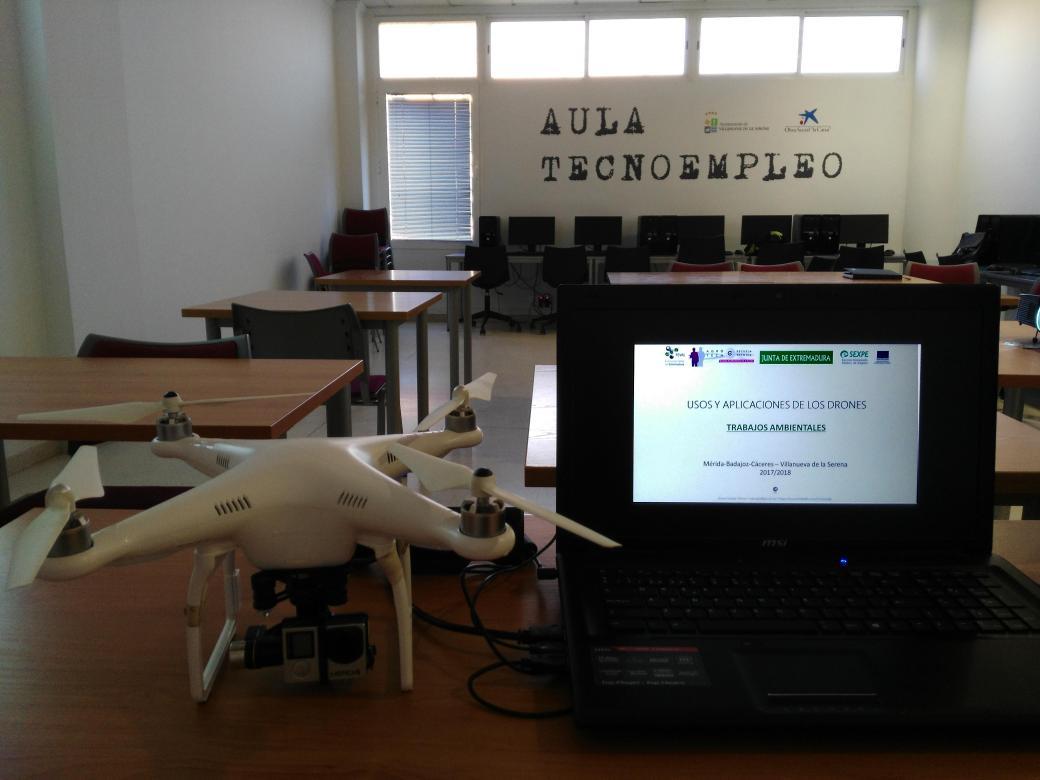 curso teledeteccion drones trabajos ambientales feval naturgis
