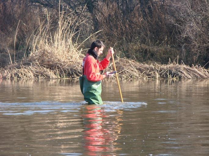 NaturGIS Caudales Ecológicos muestreos hidrológicos