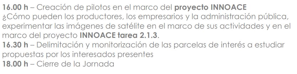 agricultura de precisión imágenes de satélite feval programa II