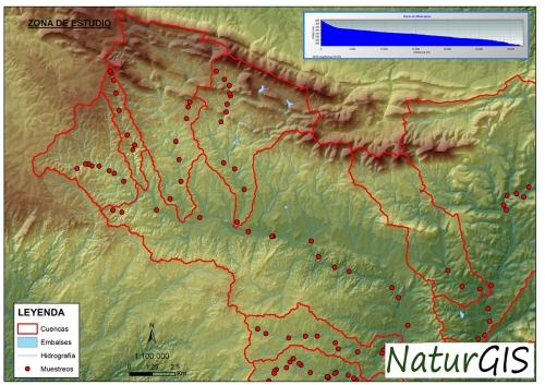 Puntos Muestreo Inventarios de Barreras SIG GIS NaturGIS