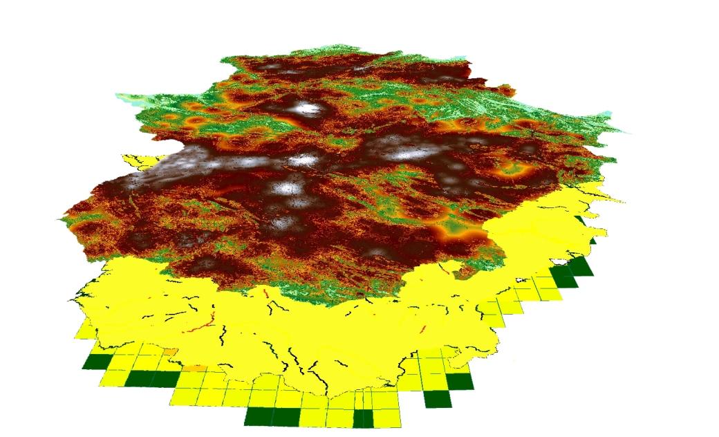 Resultados de la Cartografía de la Especie Invasora Galápago de Florida en Extremadura
