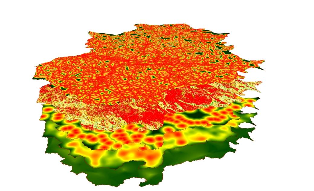Variables del Mapa Especie Invasora Galápago de Florida en Extremadura