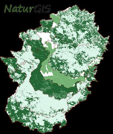 Cartografía de las Variables de la Biomasa Arbolada para Centrales Térmicas en Extremadura