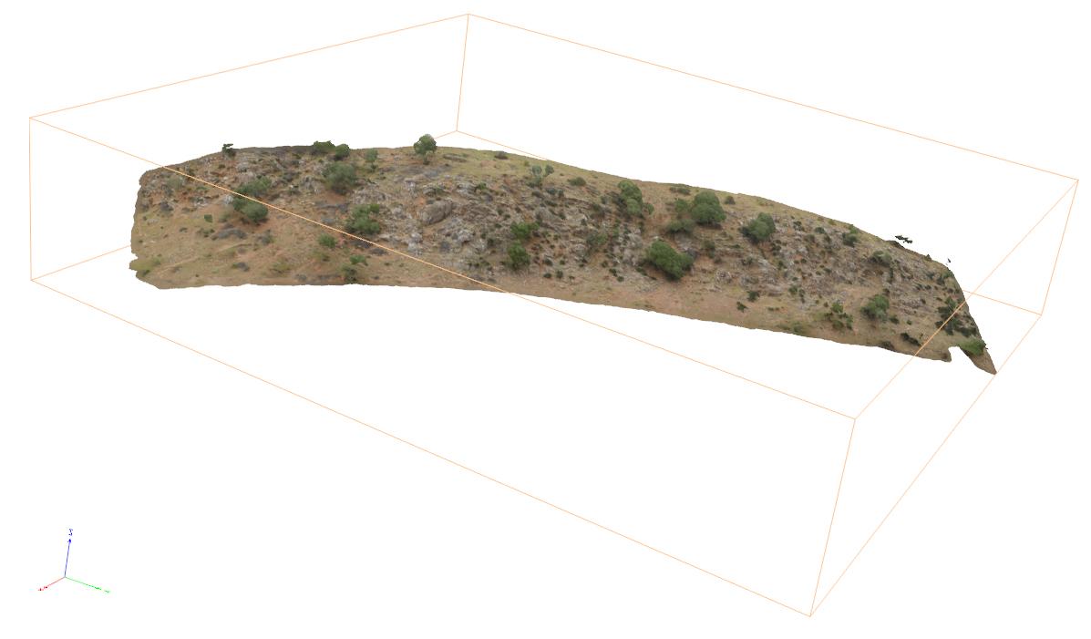 Modelo 3D Drones NaturGIS