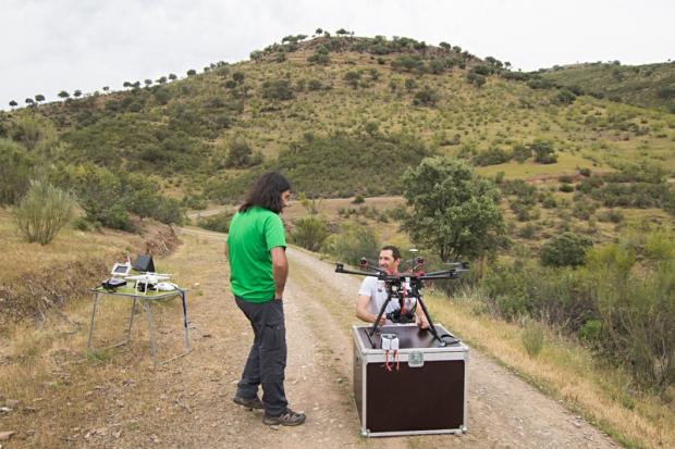 Operativa con drones NaturGIS