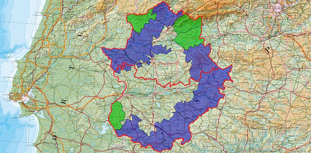 Planes Territoriales en Extremadura