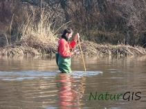 Trabajo de campo medio ambiente de NaturGIS
