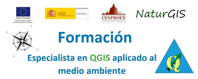 Curso Formación QGIS medio ambiente Cenproex NaturGIS